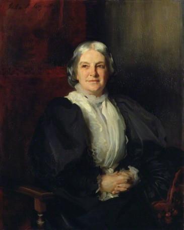 NPG 1746; Octavia Hill by John Singer Sargent